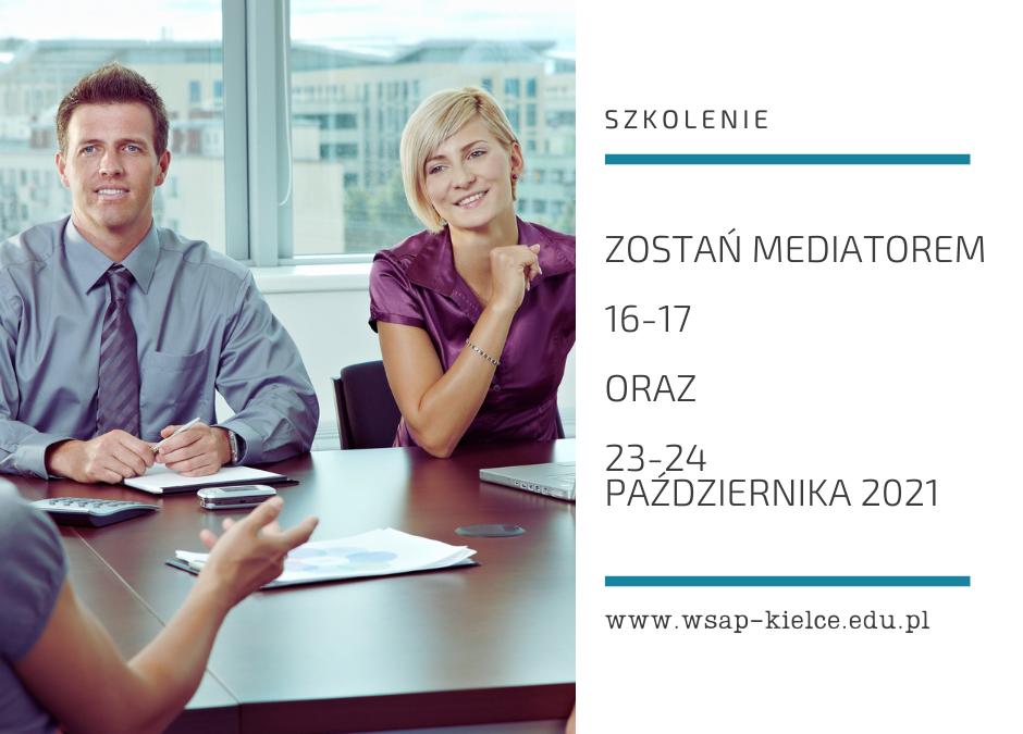 Zostań mediatorem – szkolenie